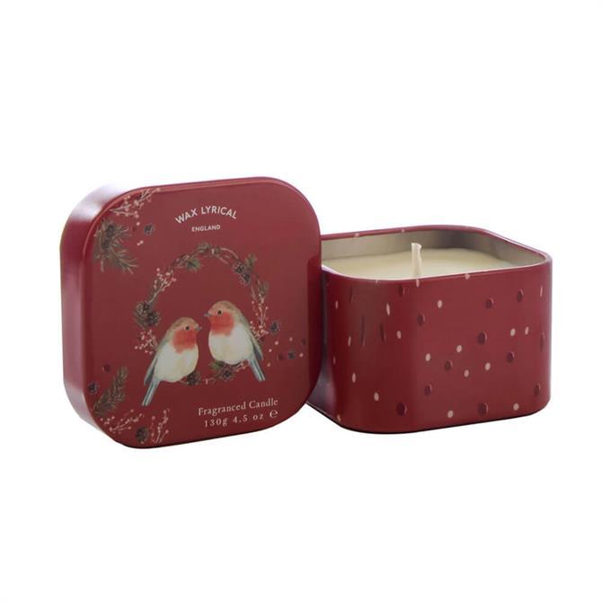 Wax Lyrical Christmas Tin Candle 130g