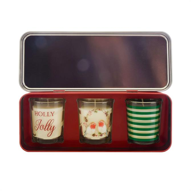 Wax Lyrical Votive Christmas Candle Gift Set