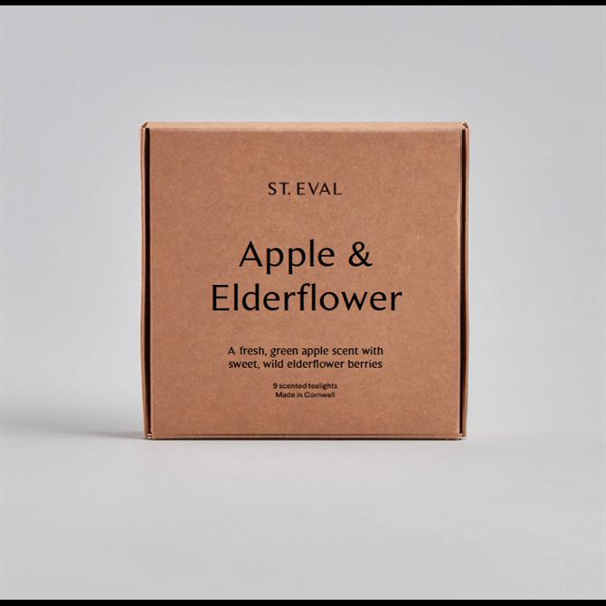 St Eval Apple & Elderflower Tealights
