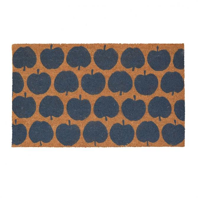 Bombay Duck Apple Grey Door Mat