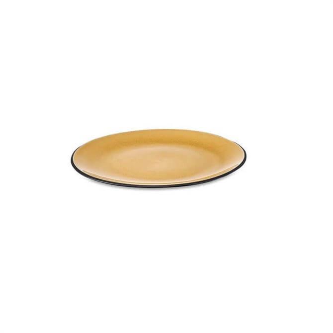 Nkuku Bao Ceramic Side Plate Mustard