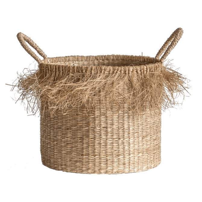 Gallery Direct Basso Natural Set of 2 Baskets