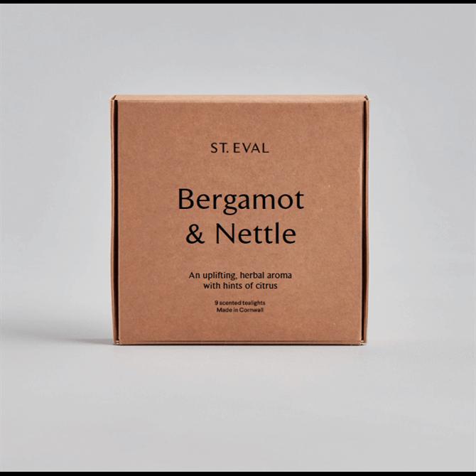 St Eval Bergamot & Nettle Scented Tealights