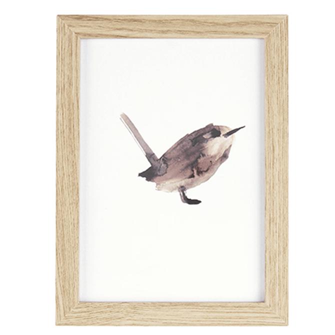 Present Time Wall Art Bird Medium