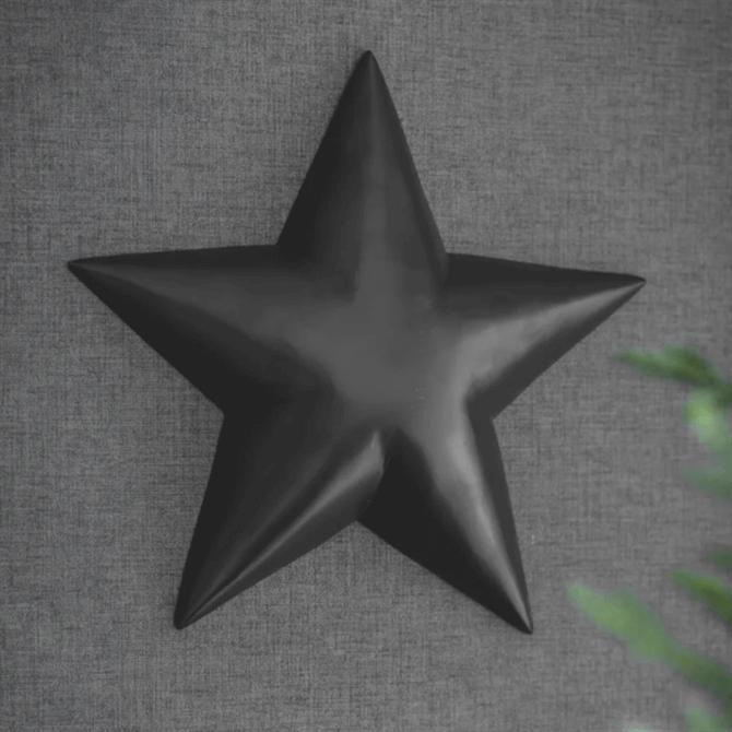 Garden Trading Black Wall Star Large