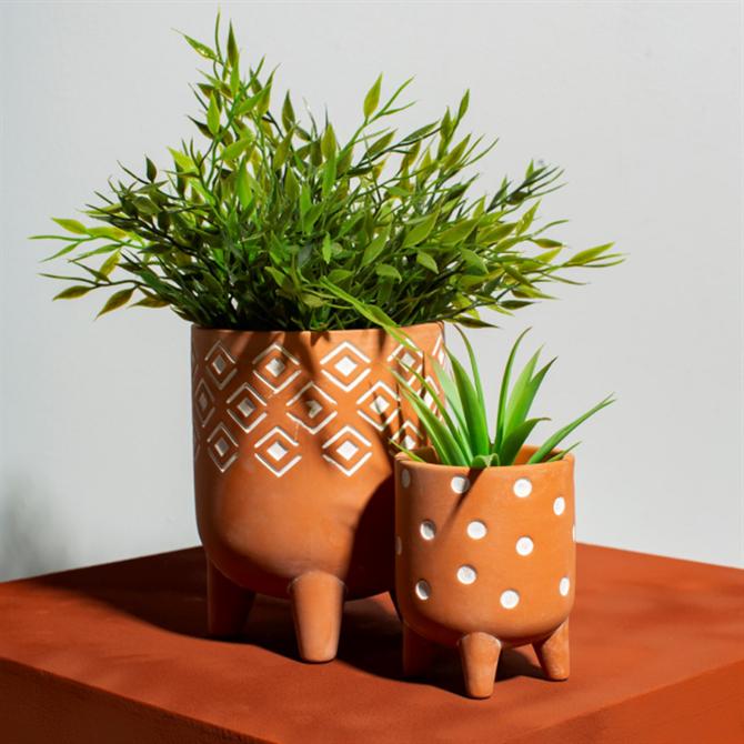 Sass & Belle Small Geometric Leggy Planter