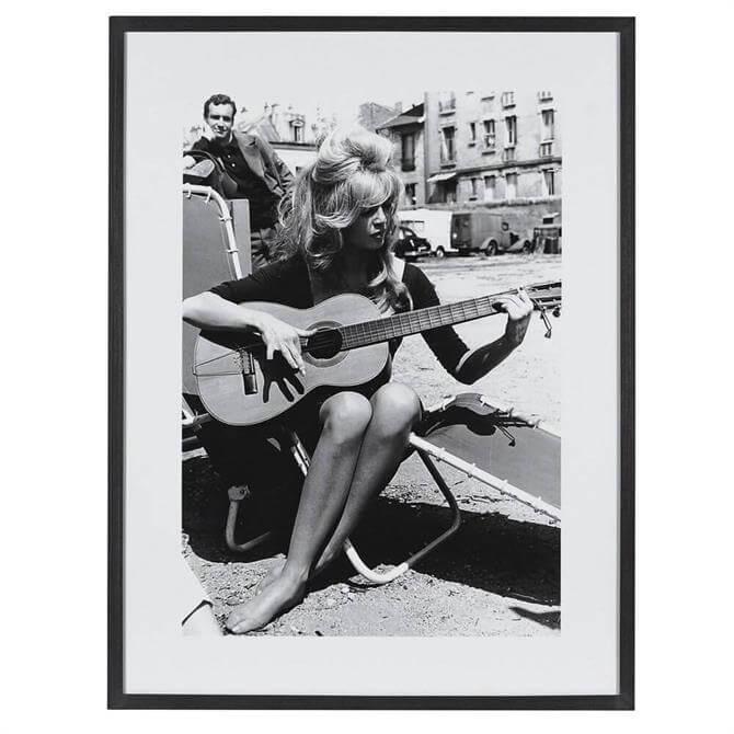 Bridget Bardot Framed Picture