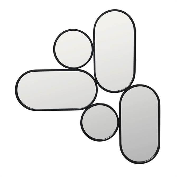 Broste Black Frame Parko Mirror