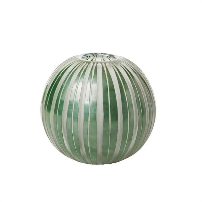 Broste Rakelle Large Handmade Glass Vase