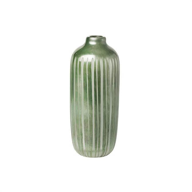 Broste Rakelle Handmade Glass Vase Medium