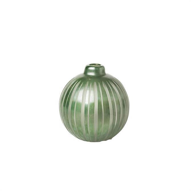 Broste Rakelle Handmade Glass Vase Small