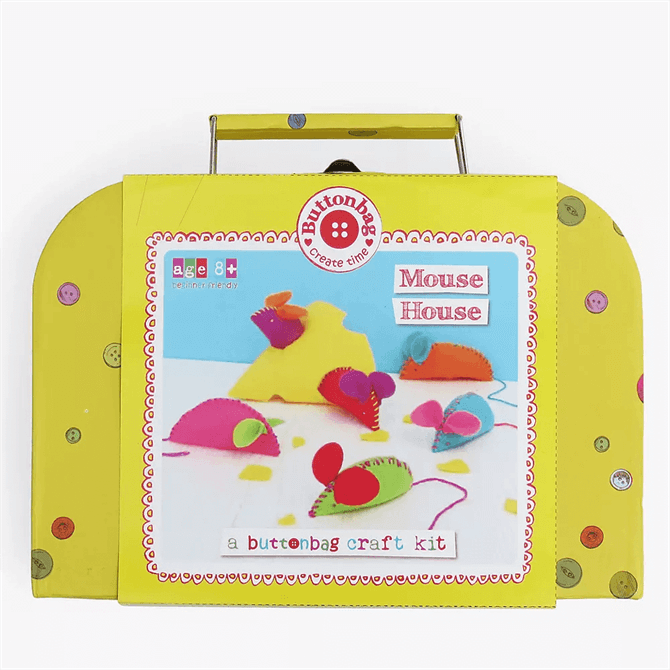 Button Bag Mouse House Kit