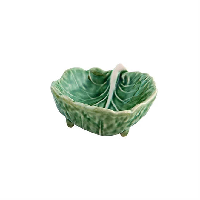 Bordallo Pinheiro Natural Cabbage Leaf Bowl Small