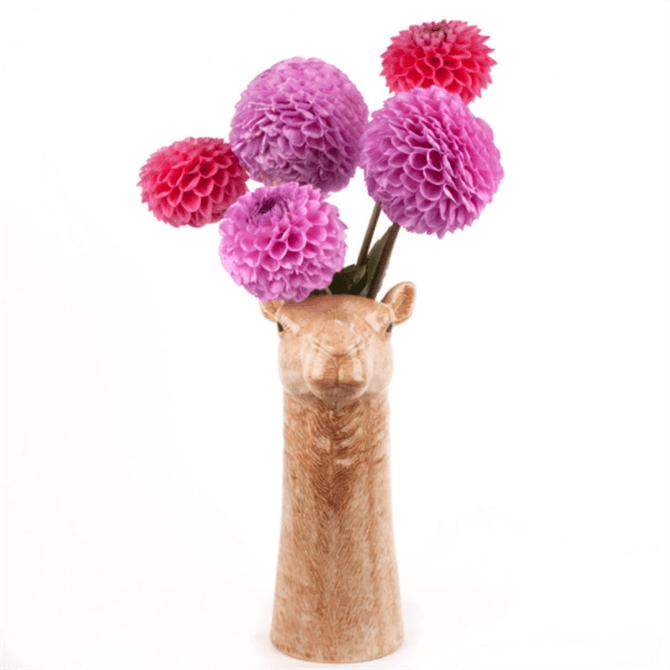 Quail Camel Flower Vase Large