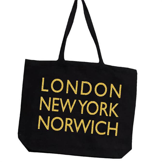 Canvas Tote Bag London New York Norwich