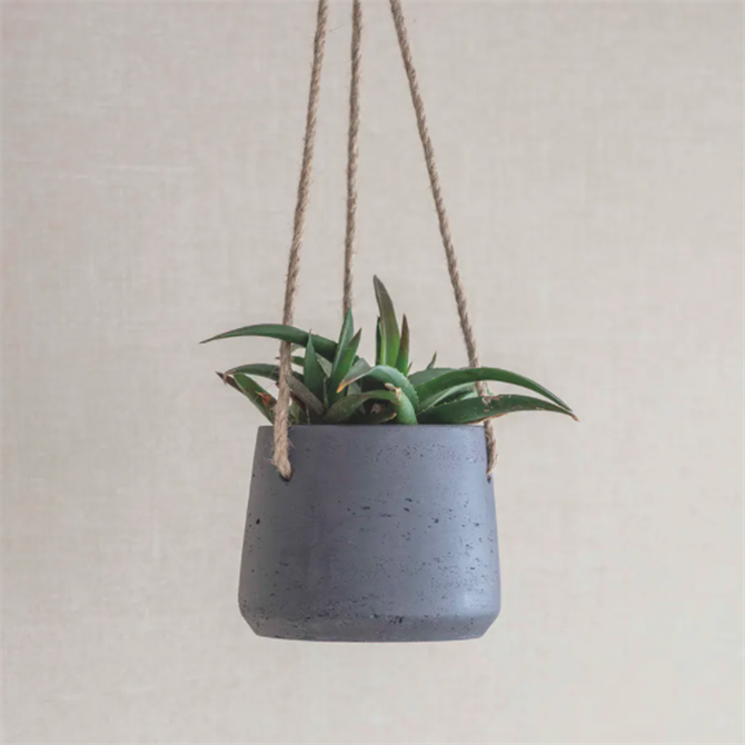 Garden Trading Stratton Hanging Cement Pot Small