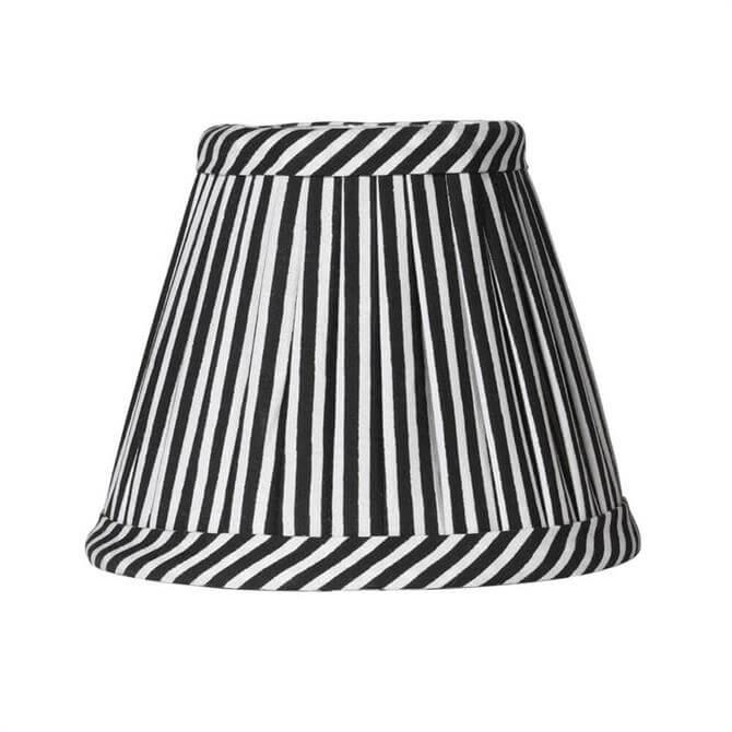 Black & White Pleated Shade