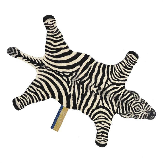 Doing Goods Chubby Zebra Rug Large