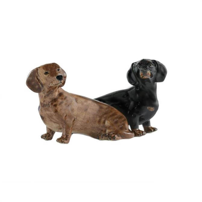Dachshund Salt and Pepper 6.5cm