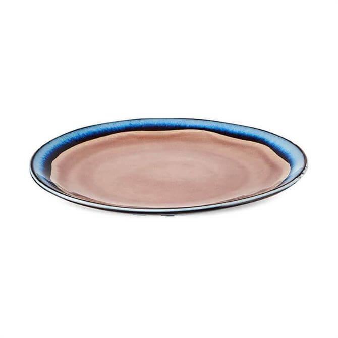 Nkuku Dakara Ceramic Dinner Plate Dusky Pink