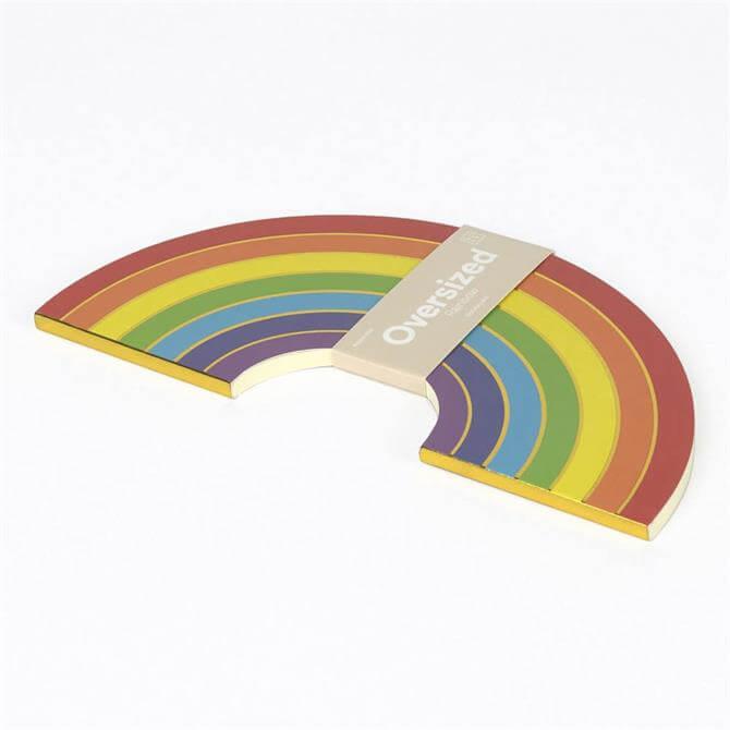 DOIY Oversized Rainbow Notebook