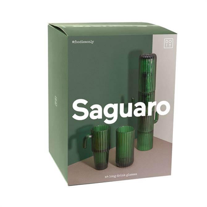 DOIY Saguaro Stackable Long Drink Glasses