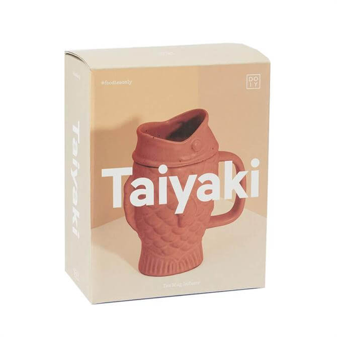 DOIY Taiyaki Mug Natural Ceramic Tea Infuser