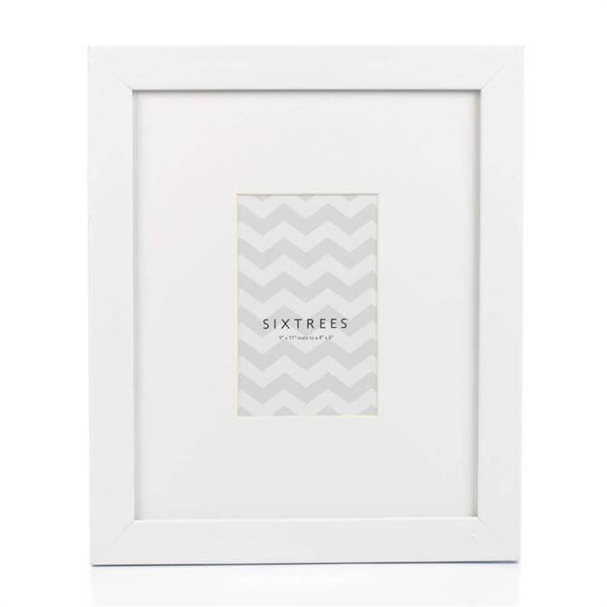 Sixtrees Dove Wall Mounted Photo Frame White