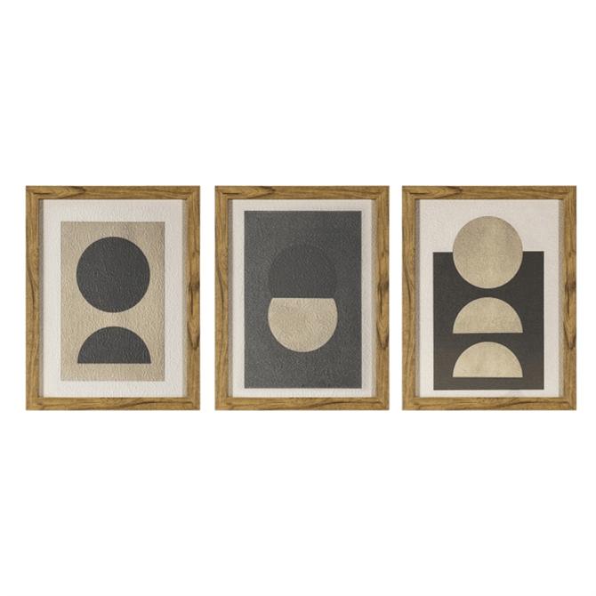 Eclipse Framed Print Set of 3