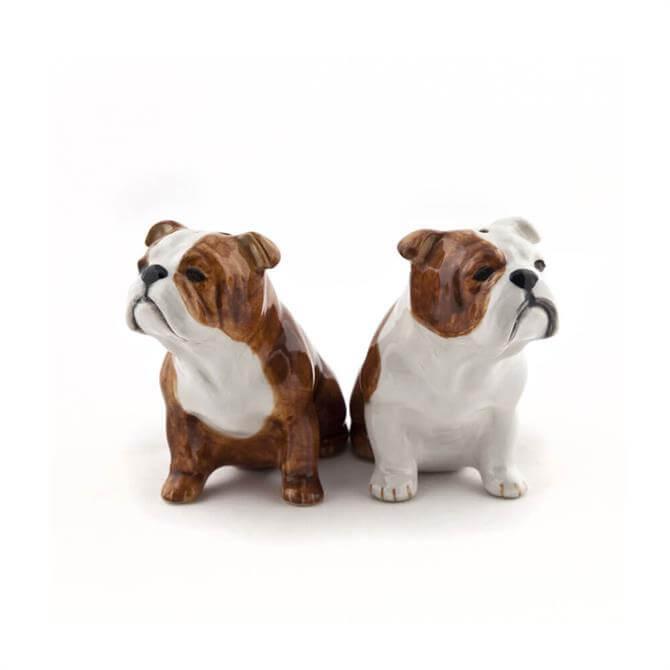 English Bulldog Salt and Pepper 8.5cm