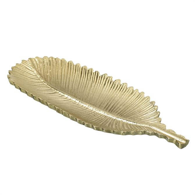 Parlane Feather Dish Gold