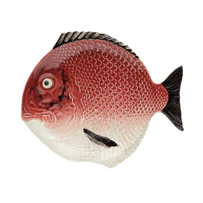 Bordallo Pinheiro Fish Dinner Plate