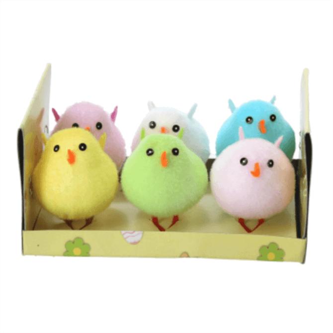 Gisela Graham Multicoloured Chick Box