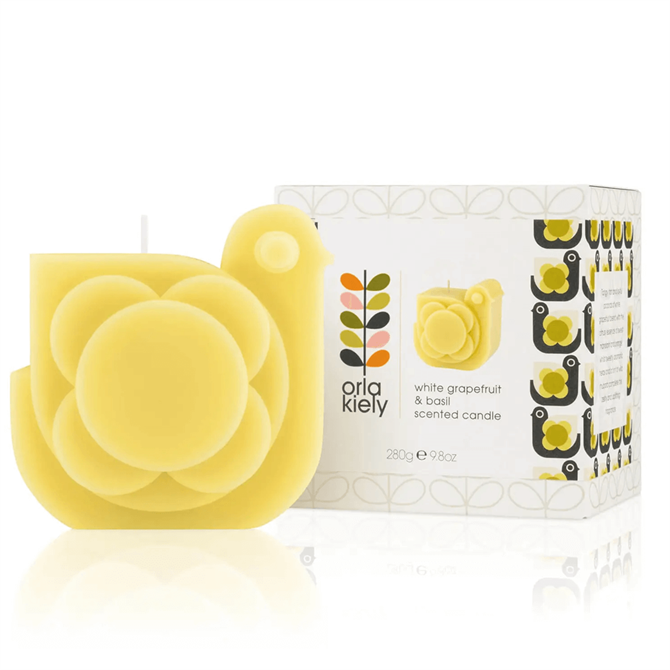 Orla Kiely Hen Shaped Scented Candle