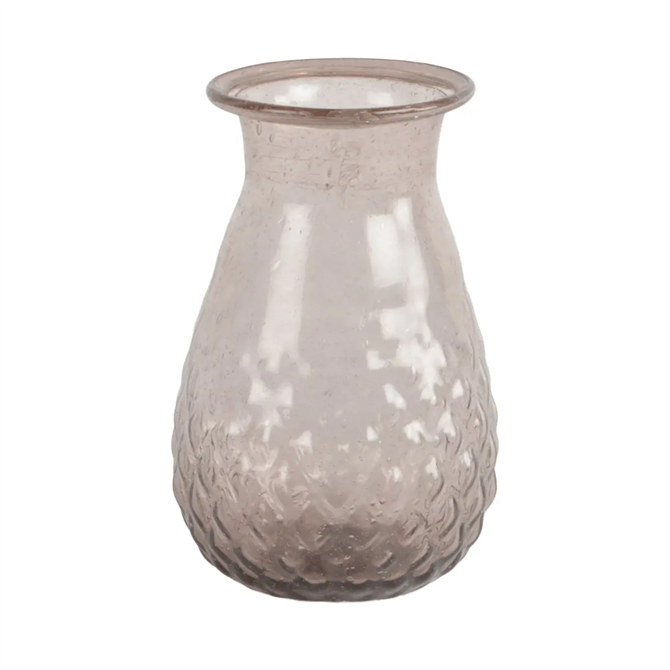 Grand Illusions Indus Vase Recycled Glass Amethyst