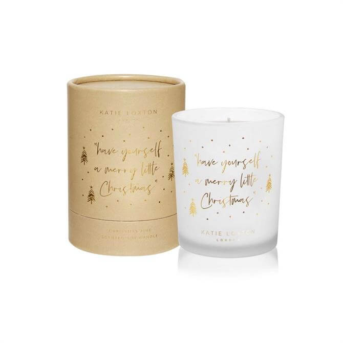Katie Loxton 'Have yourself a merry little Christmas' Candle
