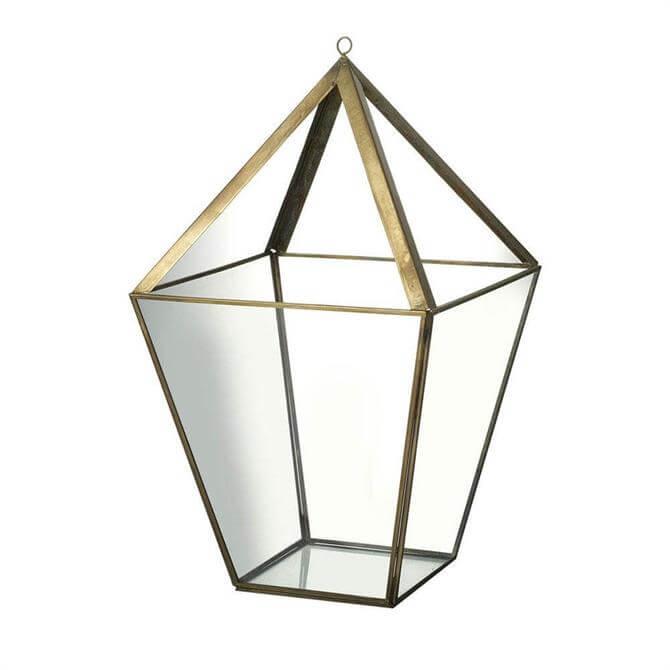 Parlane Lantern Antique Gold