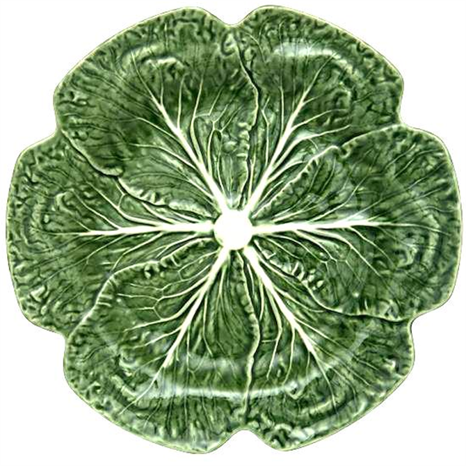 Bordallo Pinheiro Natural Cabbage Dinner Plate