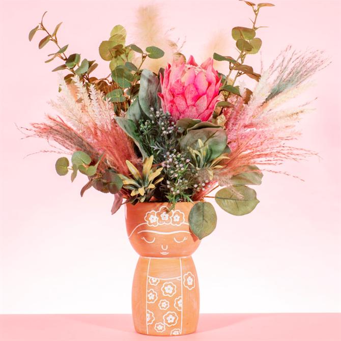 Sass & Belle Frida Terracotta Vase