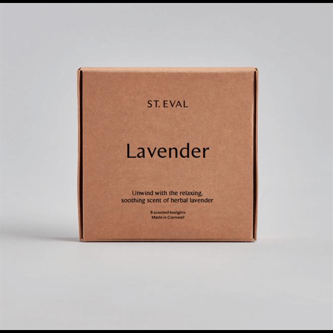 St Eval Lavender Scented Tealights