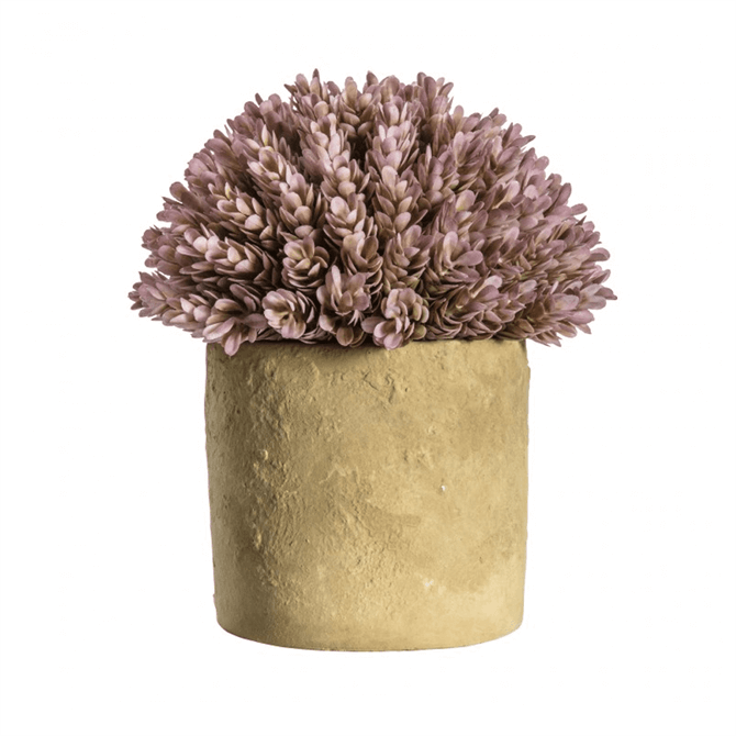 Gallery Direct Hops Lilac with Rustic Pot