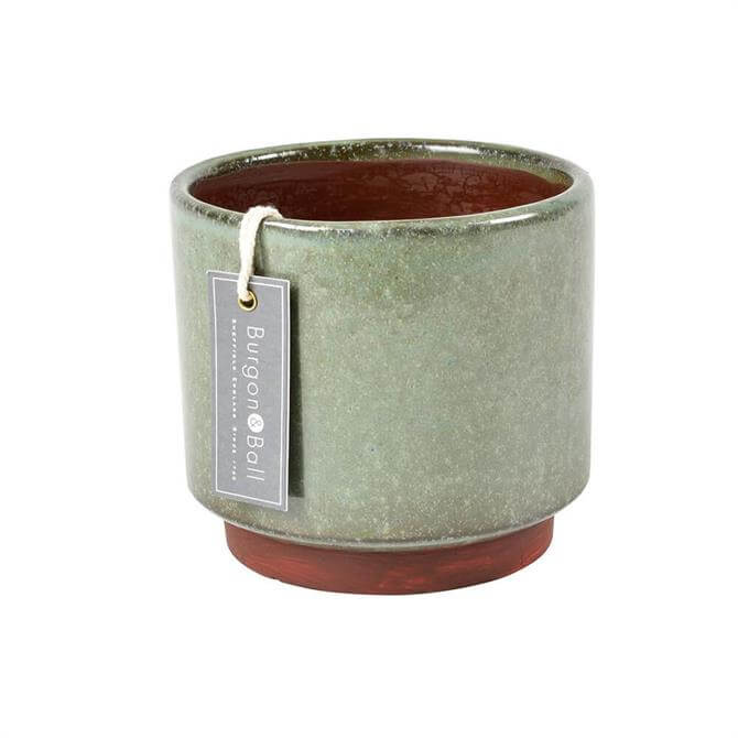 Burgon & Ball Malibu Pot Medium Green