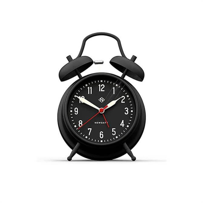 Newgate Manchester Alarm Clock Matte Black
