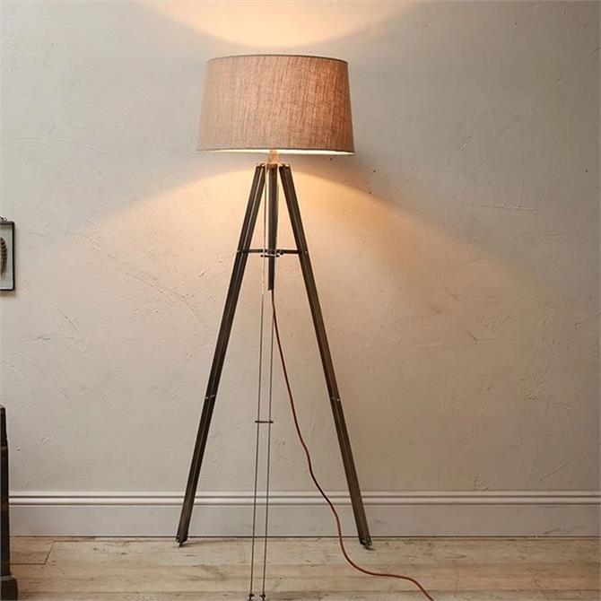 Nkuku Mawusi Tripod Floor Lamp