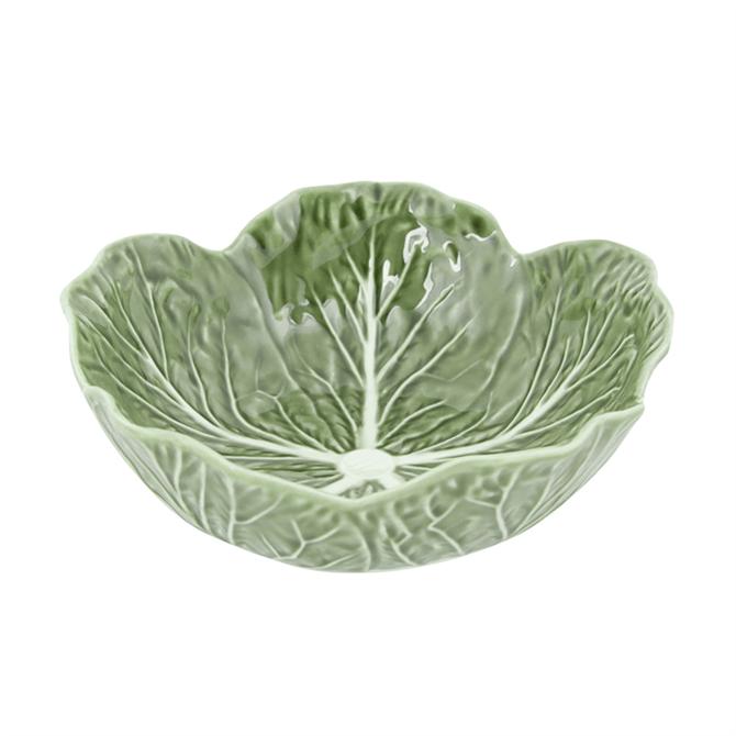 Bordallo Pinheiro Cabbage Serving Bowl 17.5cm Natural