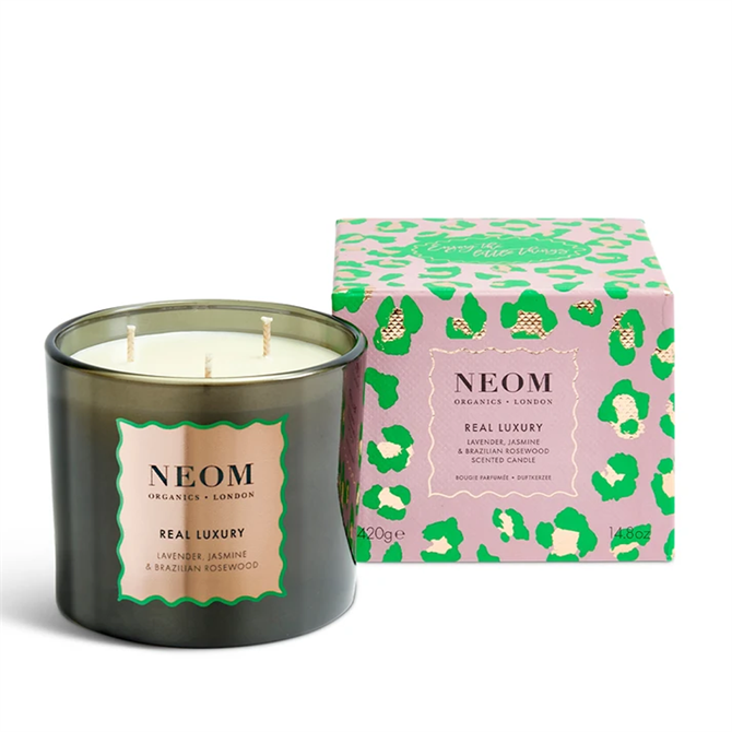 Neom Organics Limited Edition Real Luxury Scented Candle 3 Wick