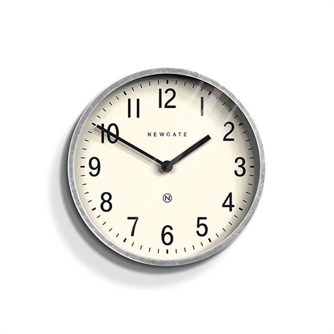 Newgate Master Edwards Wall Clock Grey