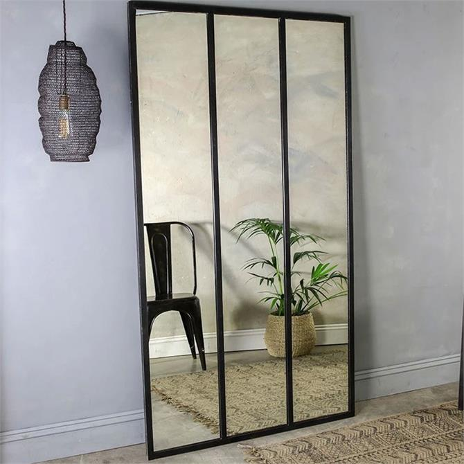 Nkuku Murzu Full Length Iron Mirror
