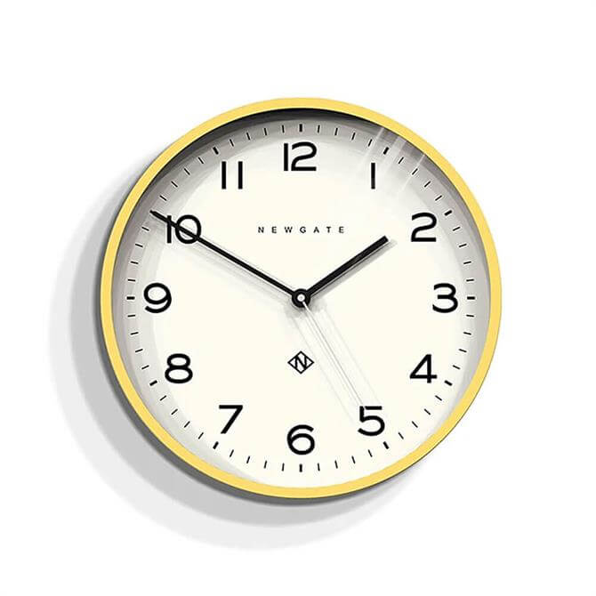 Newgate Echo Number Three Wall Clock
