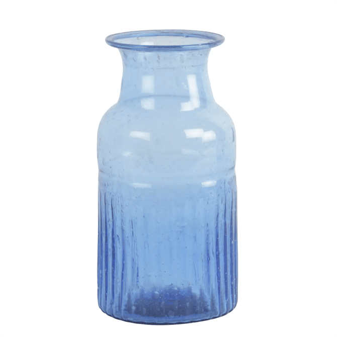 Grand Illusions Pampa Vase Recycled Glass Lapis